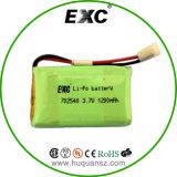 702540 1200mAh 3.7V Li-Polymer paquete de la batería