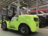 Carro diesel del equipo de manipulación de materiales carretilla elevadora de 4 toneladas