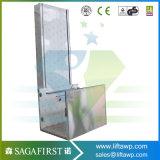 table élévatrice domestique verticale de débronchement d'extérieur de l'escalier 250kg électrique de 3m