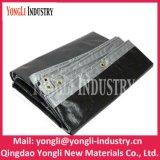 Reusáveis de prata pretos Waterproof o encerado tecido PE de 3mx4m