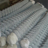 Frontière de sécurité bon marché utilisée par vente chaude de maillon de chaîne à vendre la frontière de sécurité enduite de maillon de chaîne de PVC à vendre