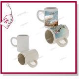 tazza di birra di ceramica di sublimazione di 250ml 500ml con il marchio dell'azienda per la promozione