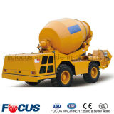 Chinese Self-Loading Diesel Concrete Mixer, Meters 4.0cube