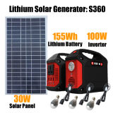De draagbare ZonneGenerator van de Batterij van het Lithium van het Systeem van de ZonneMacht voor Huis