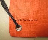 OEM-производитель Non-Woven кулиской рюкзак рекламы мешок