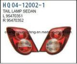 Chevrolet Aveo 2011년 /Sonic 수리용 부품시장 보충을%s 테일 빛 또는 꼬리등 OEM#95470351/95470352