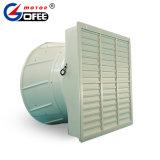 Il PVC fissato al muro acceca il ventilatore assiale del cono dello scarico del ventilatore