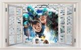 3D印刷の壁パネルの装飾的な漫画の絵画