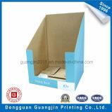 Caja de presentación acanalada plegable de papel modificada para requisitos particulares