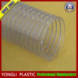 PVC renforcé spiralé de boyau de fil d'acier