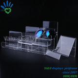 Estante transparente claro de Arylic con la Muti-Capa para la visualización de la exposición de la tapa contraria