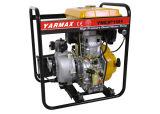 1,5 pulgadas refrigerado por aire bomba de agua de alta presión diesel