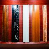 De nouveaux matériaux décoratifs Co-Extrusion étanche résistant au feu des plinthes