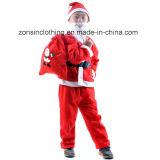 Muchachos y ropa de la Navidad de las muchachas