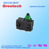Aprovações de segurança global Subminiature Micro Switch impermeável. 0,1 a 3A