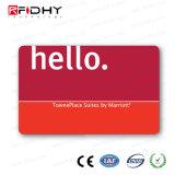 カスタムサイズの書き込み可能で、読解可能な二重頻度RFIDカード