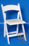Comercio al por mayor de madera de color blanco de la boda de jardín plegable silla Wimbledon