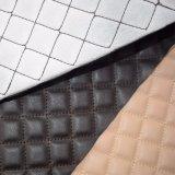 Tessile sintetica di cuoio della casa del cuoio della mobilia del sofà dell'unità di elaborazione del ricamo
