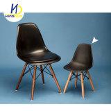 Réplica barata moderno com madeira de Plástico Eames Pernas Cadeira de refeições para crianças