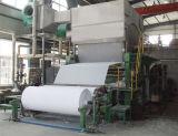 1.575 mm de tejido de la línea de producción de papel higiénico, fábrica de papel reciclado de residuos