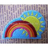 方法衣服の装飾のためのカスタム方法虹の刺繍パッチ