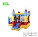 Heißes Verkaufs-Schloss-Thema-aufblasbarer Prahler kombiniert mit Plättchen