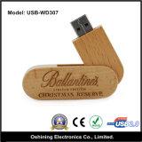 Azionamento di legno ecologico dell'istantaneo del USB (USB-WD307)