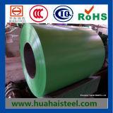 Farbe-Überzogener galvanisierter Stahl umwickelt (PPGI/PPGL)