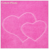 PyjamasのためのピンクのJacquard Velvet Fabric