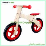 おかしいおもちゃの幼児の木の子供のバイクの木製の子供のバランスのカート