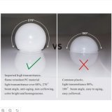 Illuminazione di alto potere LED di E27 E14 per la casa dell'interno 3W-18W