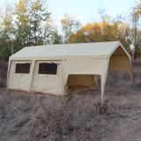 Tenda a terra di evento esterno della tela di canapa del cotone della tenda foranea da vendere