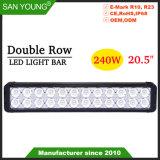 240W 20 pouces Super Bright CREE LED à double rangée Light Bar Offroad Voyant du lecteur de LED