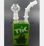 Glasrohr des wasser-7.87-Inch, das Tabak-Filter-Pfeife aufbereitet