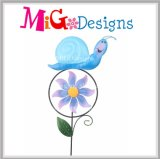 Beautiful Pig Garden Wind Spinner Stake-OEM