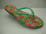 Personalizar Wholesale EVA Mujer verano sandalias de goma de zapatillas de playa