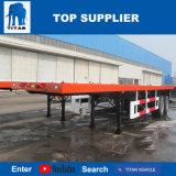Titan-Fahrzeug - kleiner 40 Flachbettsattelschlepper des Fuss-2-Axle mit Behälter-Torsion