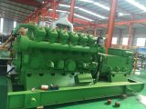 100-600kVA Biogas 또는 천연 가스 발전기 고정되는 연료 메탄 액화천연가스 LPG 의 에너지에 CNG 낭비