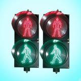 LED de segurança rodoviária a luz do sinal de tráfego Solar