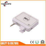 이동할 수 있는 지불 NFC 카드 판독기 ISO14443A/B ISO18092