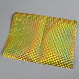 Лазерный голографические пленки для гибкой упаковки подарок от ламинирования устройства обвязки сеткой