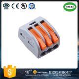 3 fils sans soudure Connecteur LED coaxial connecteur de câble