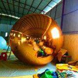 膨脹可能で巨大な銀製の球の膨脹可能な製品ミラーの球