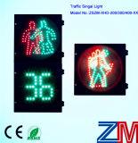 Трафик Pedestrain светодиодов высокой яркости света с таймером обратного отсчета