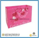 De aangepaste Roze Mooie het Winkelen van het Document Verpakkende Zak van de Gift van de Zak (gJ-Bag514)