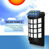 Patio solar Luz larga vida de pequeño tamaño, con sensor de luz