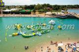Parque inflável gigante da água, parque de flutuação inflável gigante da água, jogos infláveis D3001 da água