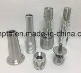 Parti di alluminio, parti di CNC del metallo, parti di metallo su ordinazione della fabbrica, alluminio di macinazione di CNC, lavorare di CNC