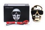 頭骨のBluetoothのスピーカーの無線プラスチック人間の骨組健全なボックスSunglass携帯用金属NFC Mic力の移動式Subwoofer Loudsボックス