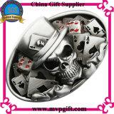Hebilla de cinturón de metal de alta calidad con grabado de logotipo 3D